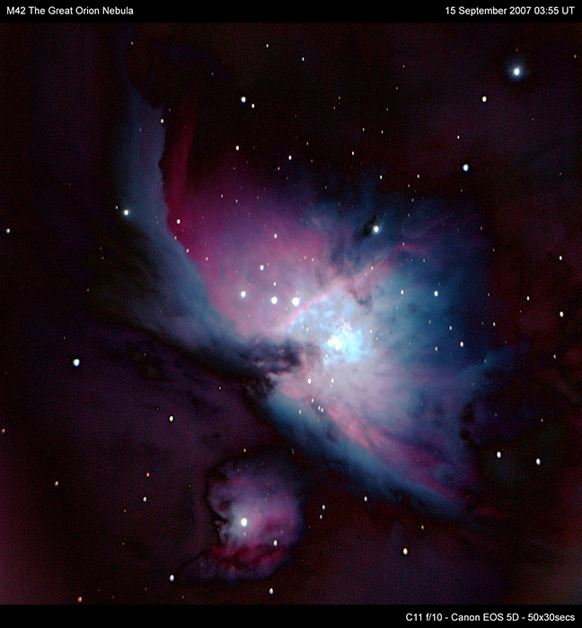 M42 Great Orion Nebula - (c) Solar Worlds