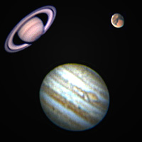 Planets - Saturn and Jupiter